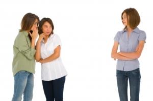 Teenage Girls Gossiping